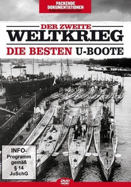 Der Zweite Weltkrieg - Die besten U-Boote auf DVD