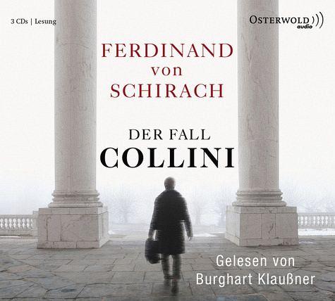 Der Fall Collini, 3 Audio-CDs - Schirach, Ferdinand von