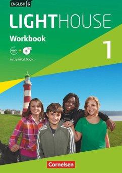 English G LIGHTHOUSE 1: 5. Schuljahr. Workbook mit CD-ROM (e-Workbook) und Audios online - Berwick, Gwen; Thorne, Sydney