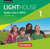 5. Schuljahr, Lehrerfassung, Audio-CDs (+MP3) / English G Lighthouse, Allgemeine Ausgabe Bd.1