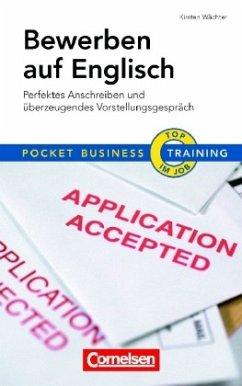 Pocket Business - Training Bewerben auf Englisch - Wächter, Kirsten