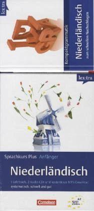 Lextra Niederländisch Sprachkurs Plus: Anfänger/Kompaktgrammatik