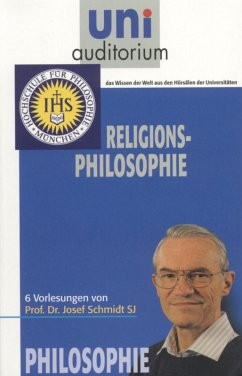 Religions-Philosophie (eBook, ePUB) - Schmidt, Josef