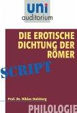 Die erotische Dichtung der Römer (eBook, ePUB)