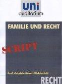 Familie und Recht (eBook, ePUB)