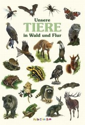 unsere tiere in wald und flur buch. Black Bedroom Furniture Sets. Home Design Ideas