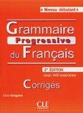 Grammaire progressive du français - Niveau Débutant. Avec 400 exercices. Livret de corrigés