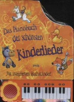 Das Pianobuch der schönsten Kinderlieder, m. Mini-Piano
