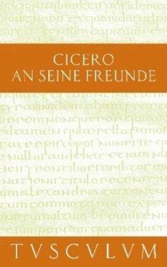 An seine Freunde / Epistulae ad familiares - Cicero