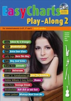 Easy Charts Play-Along, für Bb/Eb/C-Instrument, m. Audio-CD