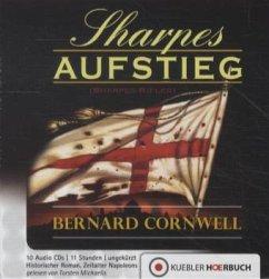 Sharpes Aufstieg / Richard Sharpe Bd.6 (10 Audio-CDs)