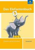 Das Elefantenbuch. 2. Schuljahr. Druckschrift. Arbeitsheft