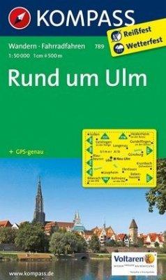 Kompass Karte Rund um Ulm