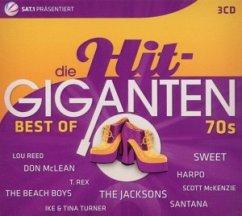 Best Of 70s, 3 Audio-CDs / Die Hit-Giganten, Audio-CDs