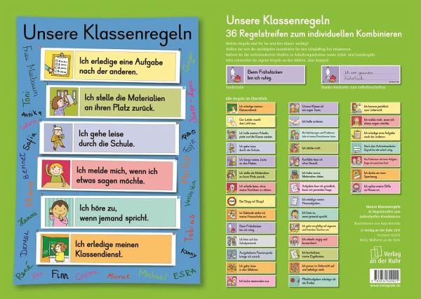 Klassenregeln grundschule bildkarten  Unsere Klassenregeln (Bildkarten) - Schulbuch - buecher.de