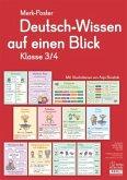 Deutsch-Wissen auf einen Blick, Klasse 3/4 (Poster)