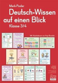 Deutsch-Wissen auf einen Blick, Klasse 3/4 (Pos...