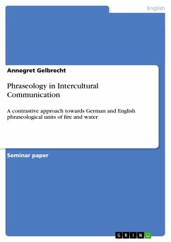 Phraseology in Intercultural Communication