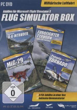 flug simulator box milit rische luftfahrt pc games. Black Bedroom Furniture Sets. Home Design Ideas