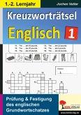 Kreuzworträtsel Englisch - 1.-2. Lernjahr