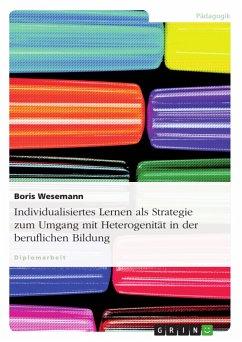 Individualisiertes Lernen als Strategie zum Umgang mit Heterogenität in der beruflichen Bildung - Wesemann, Boris