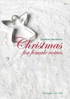 Christmas for female voices, Chorpartitur u. 2 Einzelstimmen
