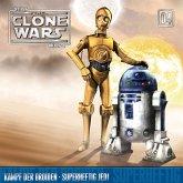 Star Wars, The Clone Wars (04) Kampf der Droiden - Superheftig Jedi, 1 Audio-CD
