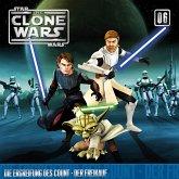 Star Wars, The Clone Wars (06) Die Ergreifung des Count - Der Freikauf, 1 Audio-CD
