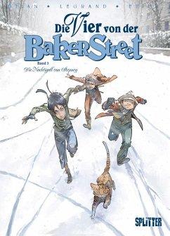 Die Vier von der Baker Street 03. Die Nachtigall von Stepney - Djian, Jean-Blaise; Legrand, Olivier; Etien, David