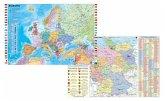 Stiefel Deutschland und Europa fürs Büro, DUO-Schreibunterlage