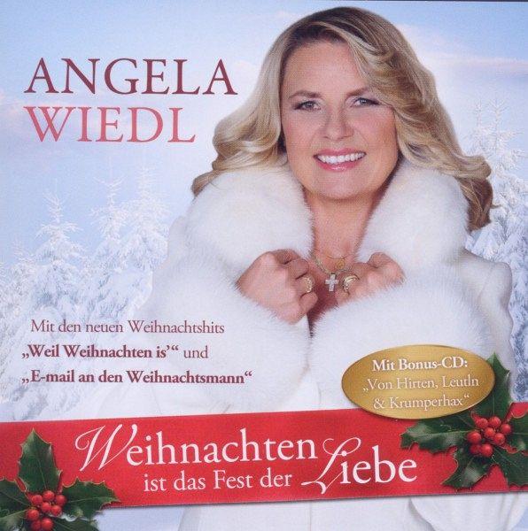 weihnachten ist das fest der liebe von angela wiedl cd. Black Bedroom Furniture Sets. Home Design Ideas