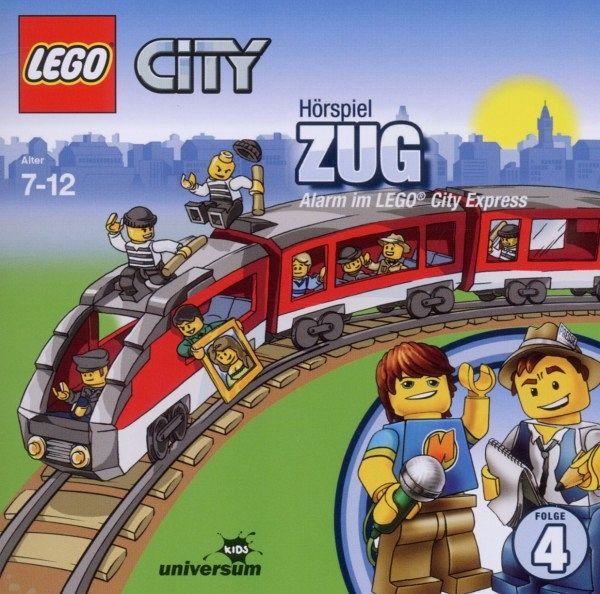Zug. Alarm im LEGO City Express LEGO City Bd.4 1 Audio-CD