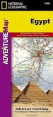 National Geographic Adventure Travel Map Egypt