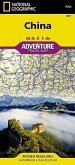 National Geographic Adventure Travel Map China