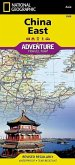 National Geographic Adventure Travel Map China East