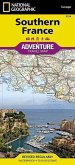 National Geographic Adventure Travel Map Southern France