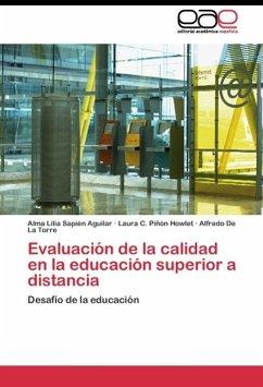 Evaluación de la calidad en la educación superior a distancia