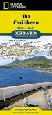 National Geographic Destination Touring Map & Guide The Caribbean