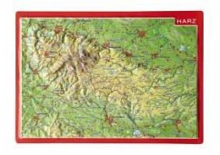 Reliefpostkarte Harz - Markgraf, André; Engelhardt, Mario
