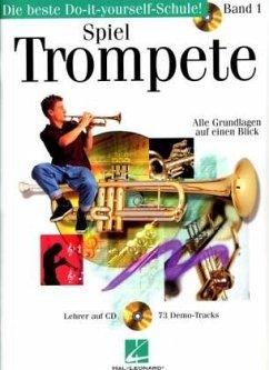 Spiel Trompete, m. Audio-CD