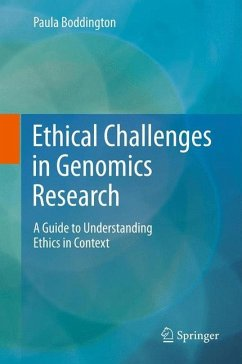 Ethical Challenges in Genomics Research - Boddington, Paula