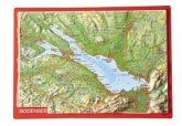 Reliefpostkarte Bodensee
