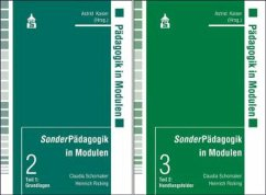 SonderPädagogik in Modulen. 2 Bände