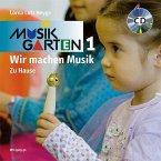 Wir machen Musik - Zu Hause, m. Audio-CD / Musikgarten 1