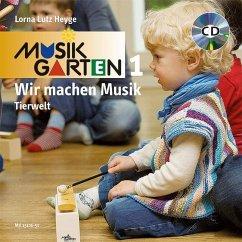 Wir machen Musik - Tierwelt, m. Audio-CD