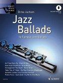 Jazz Ballads, für Flöte, m. Audio-CD, Einzelstimme u. Klaviersatz