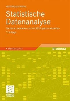 Statistische Datenanalyse - Kähler, Wolf-Michael
