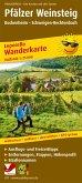PUBLICPRESS Leporello Wanderkarte Pfälzer Weinsteig, Bockenheim - Schweigen-Rechtenbach