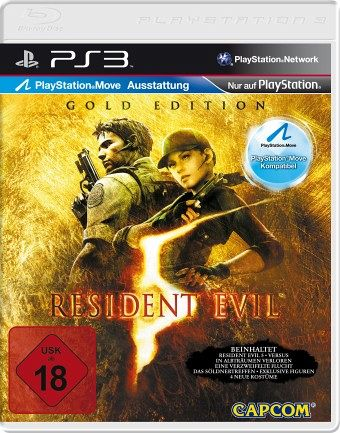 Resident Evil 5 - Gold Edition (PlayStation 3)