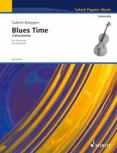 Blues Time, für Violoncello